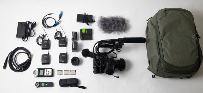 Canon EOS C200 (w/ 3 CFAST cards, 2 batteries, inc lens)