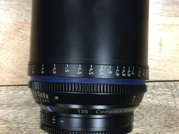 Rent: zeiss ef mount cp2 135mm