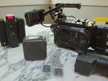 Complete Sony FS7 Mk II kit w/ Lenses, Batteries and Media