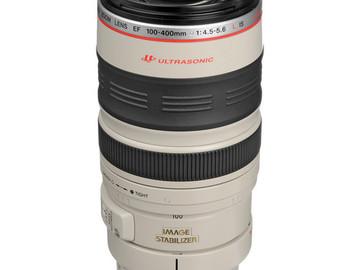 Rent: Canon EF 100-400mm f/4.5-5.6L IS USM Lens