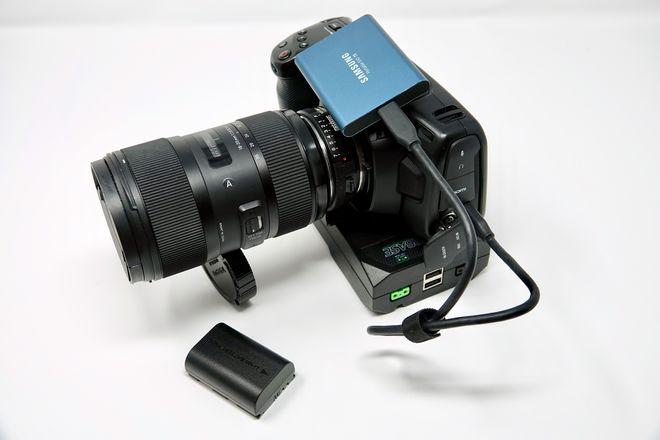Blackmagic Pocket Cinema Camera 4K Package