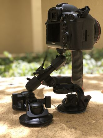 Car Mount (up to 12lbs). A7S II / 5D / GH5 / etc