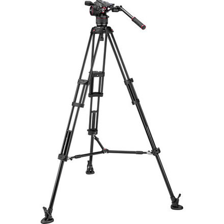 Manfrotto 546B tripod with Nitrotech N8 Video Head