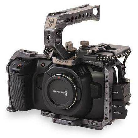 BMPCC 6K + Xeen 24, 50, 85mm T1.5 Lenses, Cage & 2TB SSD