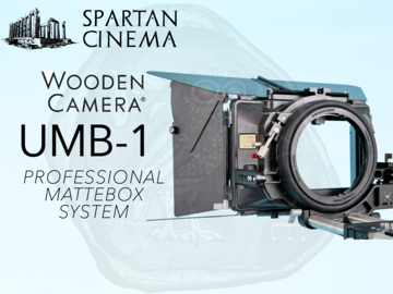 Wooden Camera UMB-1 PRO Mattebox + Hard Matte Set Box