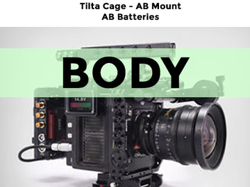 Rent: Alexa Mini - Body + Cage ONLY, no weekends