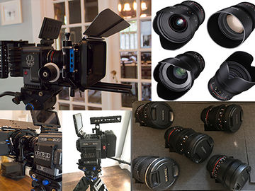 RED Scarlet-W Dragon 5K with Lens Package
