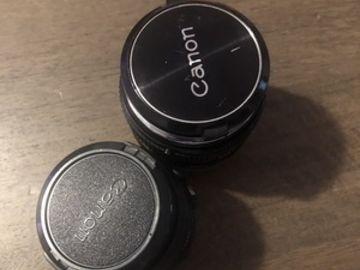 Canon Vintage FD Lens Set