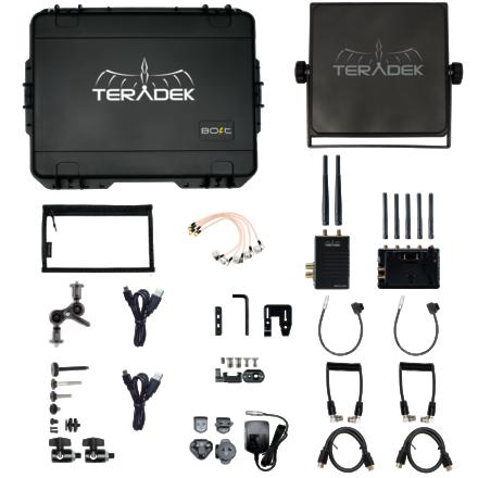 Teradek Bolt 3000 XT 3G-SDI/HDMI Deluxe Kit w/ Panel Array