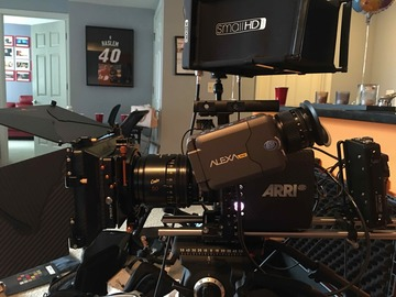 Arri Alexa Mini Pro Package/Matt Box/Monitor/256 gig media
