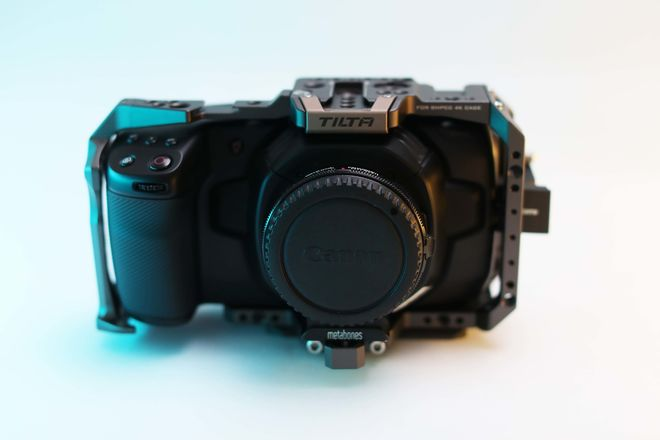 Black Magic Pocket Cinema Camera 4K Basic Kit