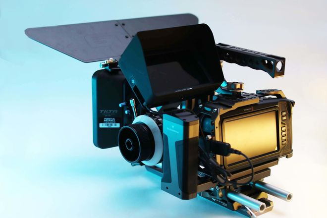 Black Magic Pocket Cinema Camera 4K - Cinema Kit