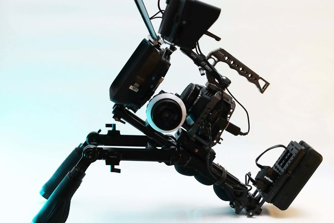 Black Magic Pocket Cinema Camera 4K Ultimate Run & Gun Kit
