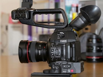 Rent: Canon C100 Markii (body only)