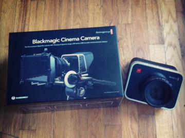 Rent: Blackmagic Cinema Camera 2.5K EF