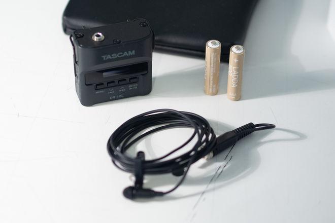 Tascam DR-10L + 16Gb SD card