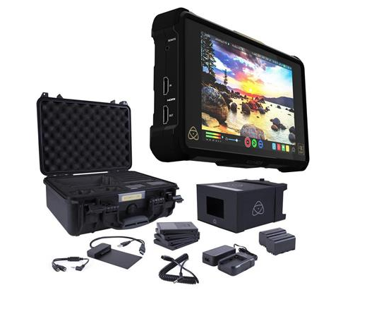 Atomos Shogun Inferno with SSDs and Tons of Batteries