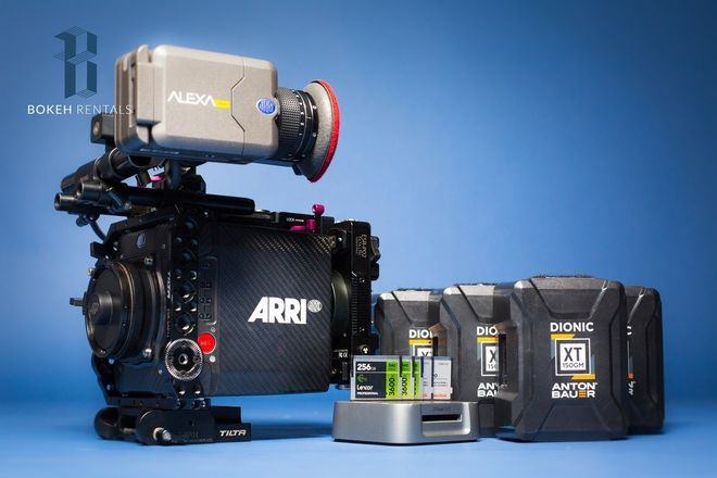 Alexa Mini BASIC Package - (4:3 & RAW)