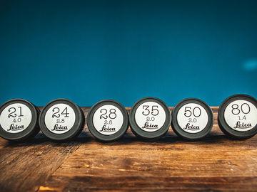 Leica R Cine EF Lens Set