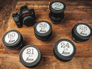 Sony a7 III with Leica R Cine Lenses