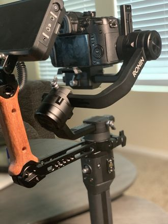 DJI Ronin-S with Small Rig Handle