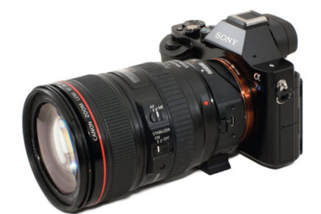 Sony a7sii + EF Adapter + Canon 24-105m + Canon70-200mm lens