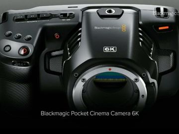 Blackmagic Design Pocket Cinema Camera 6K (Full Package)