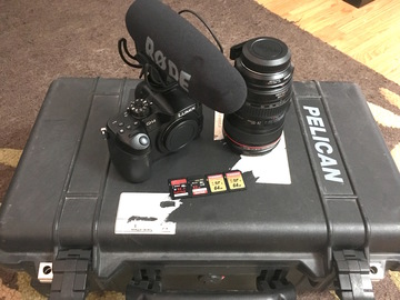 Rent: Panasonic GH4 Metabones EF Canon 24-105mm Package