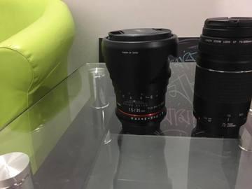 Rent: Rokinon 1.5-35mm CIne lens