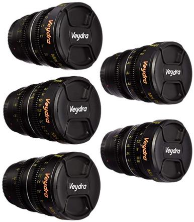 Veydra Mini Prime Lens Set