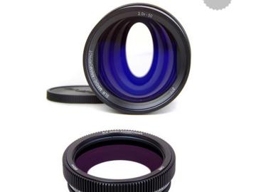 Rent:  SLR Magic Anamorphot-50 2.0x with Rangefinder Cine Adapter