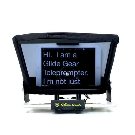 Teleprompter Kit w iPad Air2, Tripod & Voice Recognition App
