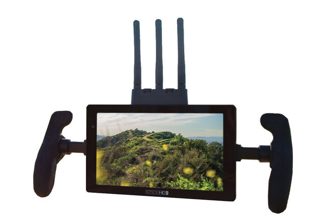 "SmallHD 7"" Cine 7 500 RX Monitor with Handles (V-Mount)"
