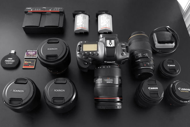 Canon EOS-1D X Mark II PACKAGE! (7 Lenses + CFast + More!)
