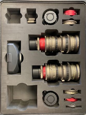 Angenieux EZ-1 S35 30-90mm T2 & EZ 2 S35 15-40mm Lens bundle