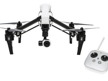 Rent: DJI Inspire 1 Quadcopter with 4K Camera and 3-Axis Gimbal