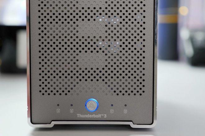 4TB SSD RAID AKiTiO Thunder3 Quad Mini w/ Sandisk