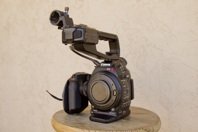 Canon C100 EF Mark 1 (body and handle)