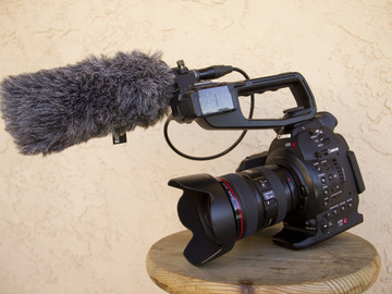 Rent: Canon C100 Mark 1 (w/ 24-105mm, Rode NTG1 shotgun mic)