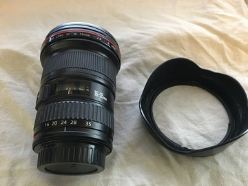 Rent: Canon EF 16-35mm f 2.8