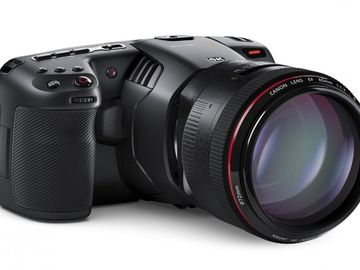 Blackmagic Design Pocket Cinema Camera 6K, lens, 2.5TB, 8hrs