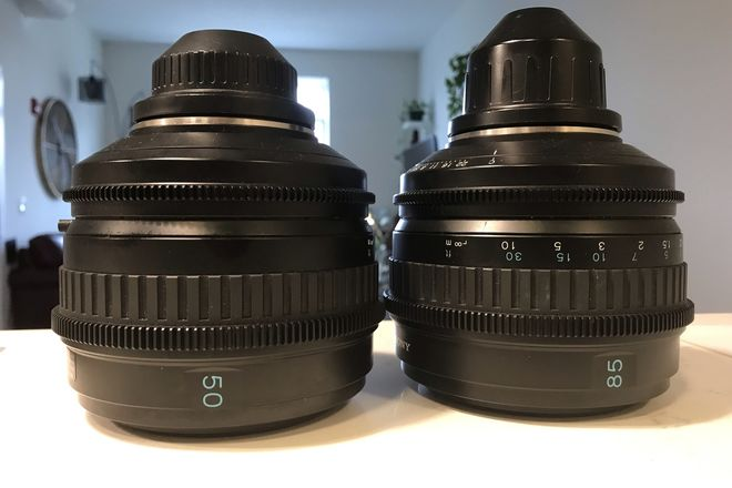 Sony SCL 50mm , 85mm