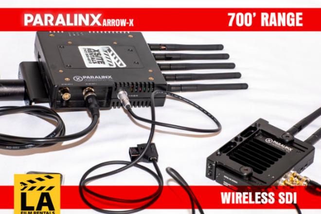 700' Wireless SDI Video - Paralinx Arrow-X by Teradek