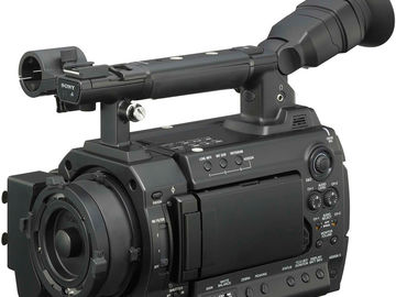 Rent: PMW-F3 PACKAGE W/ PL-FD CONVERTER, 24&50MM LENS.