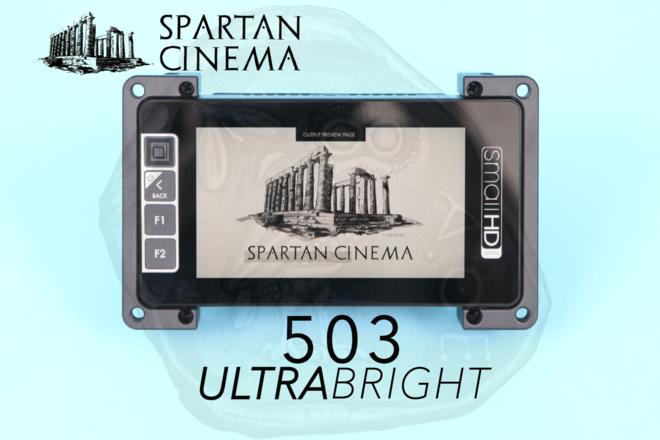 SmallHD 503 UltraBright Monitor + Mount & Sunshade #2
