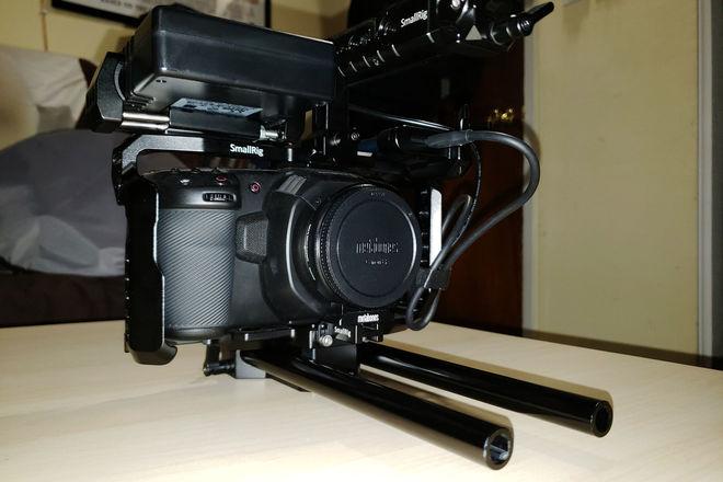 Blackmagic Pocket 4K w/ 18-35 + Cage + Power