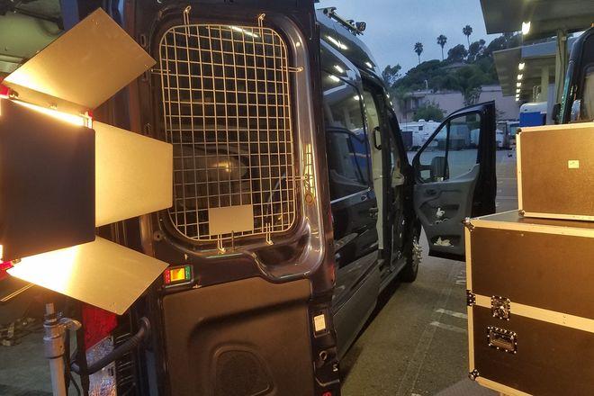 2.5 ton G/E kit Arri HMI, LED, Kin Select,, load ramp, solar