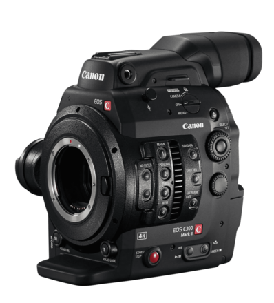 C300 Mark II BODY ONLY - (2x) 128GB (2) Batteries