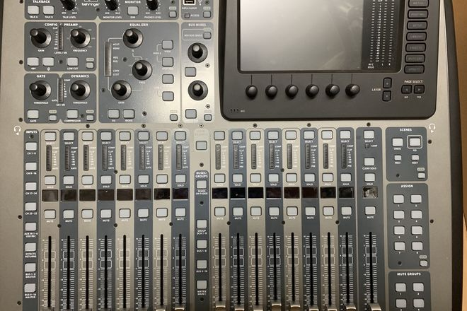 Behringer X32 Compact with Dante Card