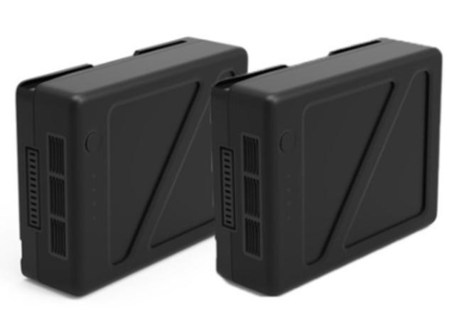2 x DJI Inspire 2 TB50 Batteries